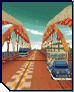 MKDS GCN Mushroom Bridge Course Icon