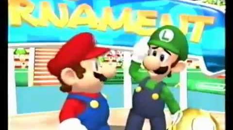 Mario Power Tennis - Luigi's Celebration