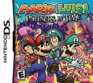 Maro & Luigi - Partners in Time Cover