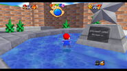 Princess Peach's Castle Courtyard SM64