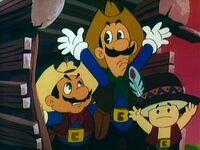 Butch Mario & Luigi Kid