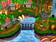 DKC3GBA Screenshot Mekanos