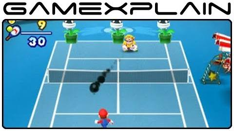 Mario Tennis Open-Ink Showdown Minigame