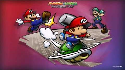 Mario and Luigi Partners in Time - Normal Battle EXTENDED