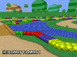 MKDS Donut Plains
