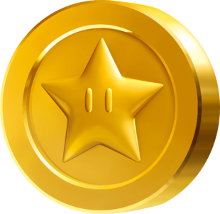 Moneda Estrella Super Mario Wiki Fandom Powered By Wikia