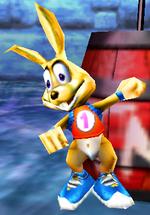 DK64 Screenshot Schneller Hase
