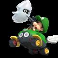 MK8 Artwork Baby Luigi
