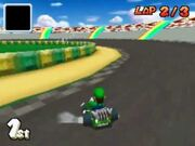 MKDS Screenshot GCN Luigis Piste 2