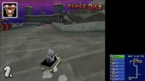 Mario Kart DS - Fliegende Festung