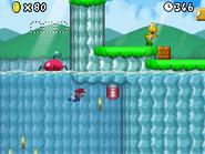 Skeeter - Floating on Water - New Super Mario Bros