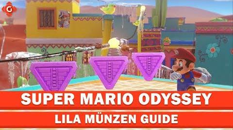 Super Mario Odyssey- Alle Sammelobjekte (lila Münzen - Wüstenland) - Collectible Locations Guide
