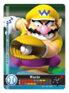 Carte amiibo Wario baseball