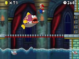 Cheepskipper Battle - New Super Mario Bros