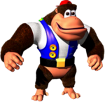 Chunky Kong Art (Donkey Kong 64)