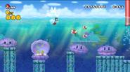 Clampy en New Super Mario Bros. Wii