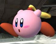 Kirby Zero Suit Samus SSBB