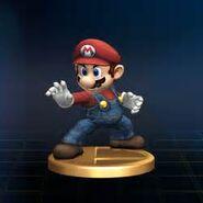 Mario trophé SSBB