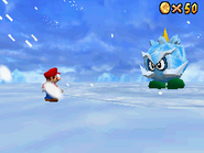 SM64DS Screenshot Eis-Bully