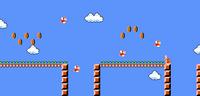SMB World 7-3 NES 1