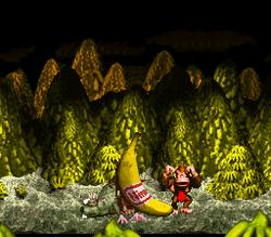 DKC Screenshot Megabanane