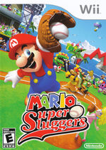 Jaquette américaine Mario Super Sluggers