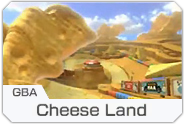 MK8 DLC Cheese Land Course Icon