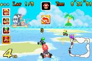 Shy Guy Beach (Mario Kart Super Circuit)