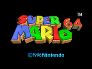 SuperMario64TitleScreen