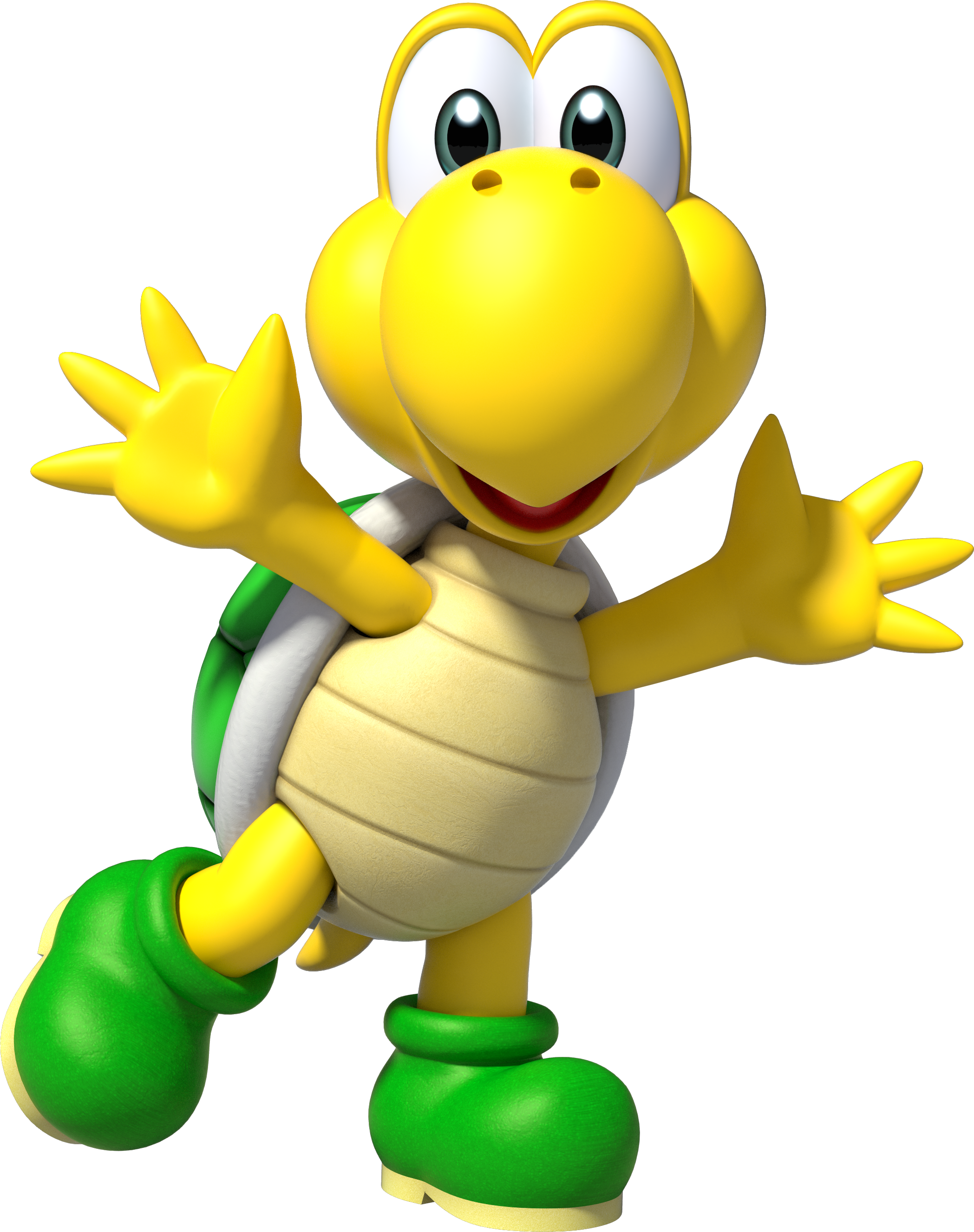 b113eb1dc17 Artwork of Koopa Troopa from Super Mario Party.