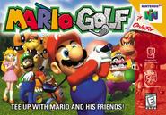 Verpackung von Mario Golf 64