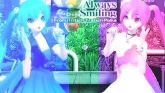 Vocaloid AMV ~ Dance Dance Revolution Mario Mix ~ Always Smiling