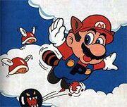 Mario en Tierra de nubes