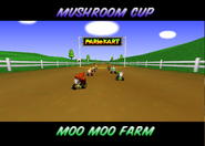 Moo Moo Farm - Opening - Mario Kart 64