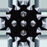 NSMBW Sprite Mega-Stachelkugel