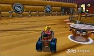 Topo Rocky en Mario Kart 7