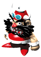 Booster Artwork - Super Mario RPG