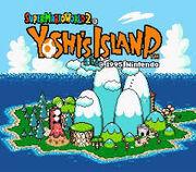 Isla de yoshi super mario world 2