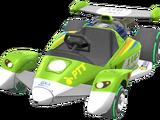 1-Up-Rennwagen
