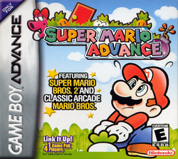 Super Mario Advance (Front Cover, NA)