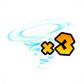 MKAGPDX Sprite 3x Tornado