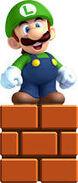 Petit Luigi dans Super Mario 3D World