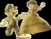 Statue Luigi Daisy (Circuit Daisy) MKWII