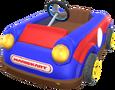 MKT Sprite Spielzeug-Kart Rotblau