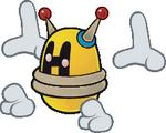 PM2 Sprite Gelber Magi-Mech