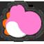 Icône Yoshi rose Ultimate