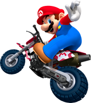 Mario Artwork (alt) - Mario Kart Wii