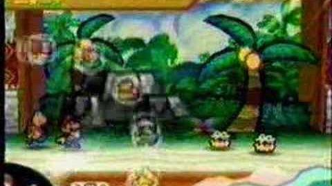 Paper Mario Commercial