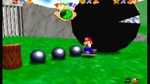 Super Mario 64 Behind Chain Chomp's Gate Walk Through