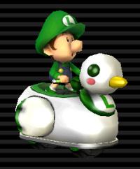 Coin-coin Bébé Luigi